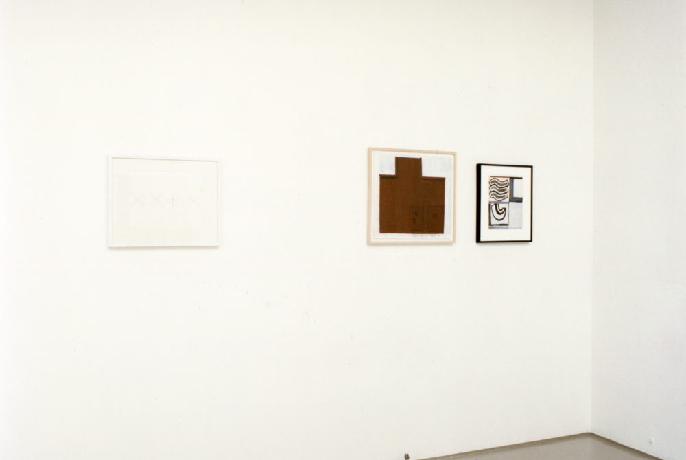 Works on Paper 1962-1988