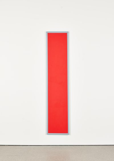 Untitled (Red Monochrome with Grey)
