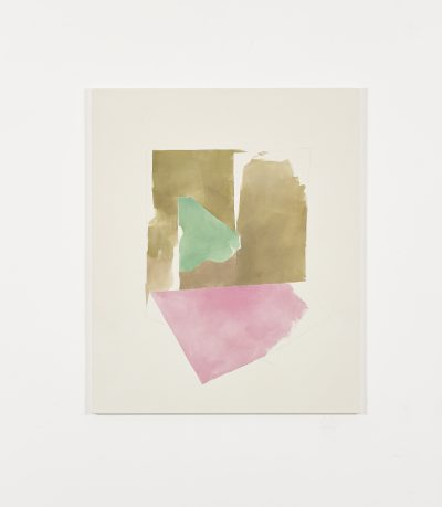 Ochres, green and pink (October 2014)