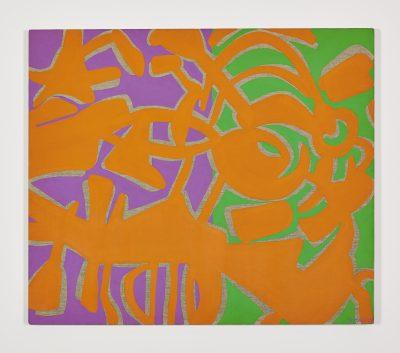 Arancio, viola, verde