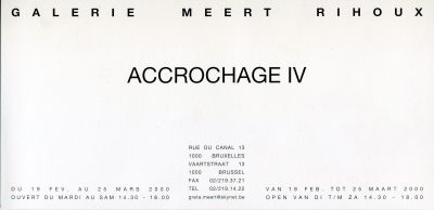 Accrochage IV