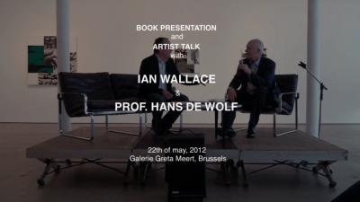 Artist talk and book presentation.