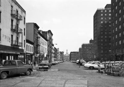 115th Street at 2nd Avenue, New York, Harlem 1978