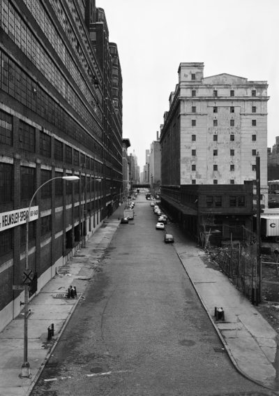 26th Street from West Highway, New York, Chelsea 1978