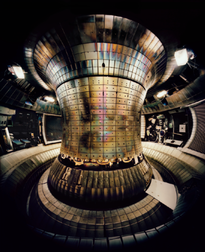 Tokamak Asdex Upgrade Interior 1, Max Planck IPP, Garching 2010