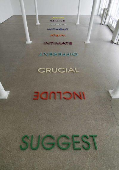 Multicoloured Word List