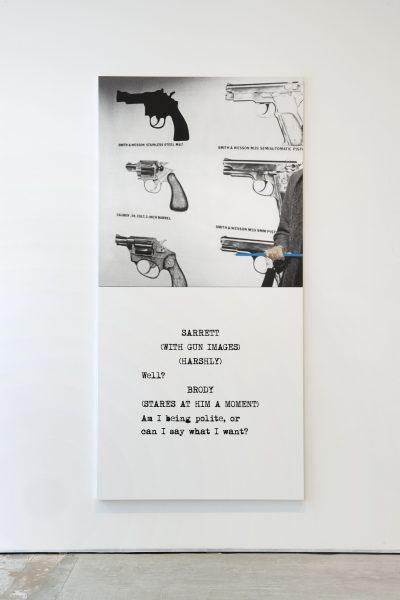 Scene (  ) / Take (  ) : Guns