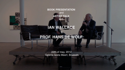 Artist talk and book presentation.